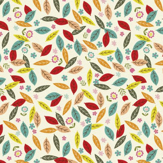 5 Sheets Of Leafy Lane Design Gift Wrap