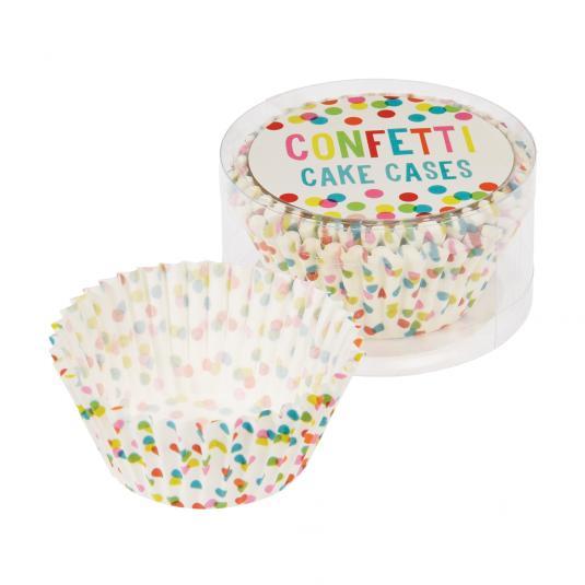 50 Confetti Muffin Cases