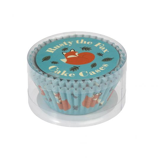 Rusty The Fox Cup Cake Case