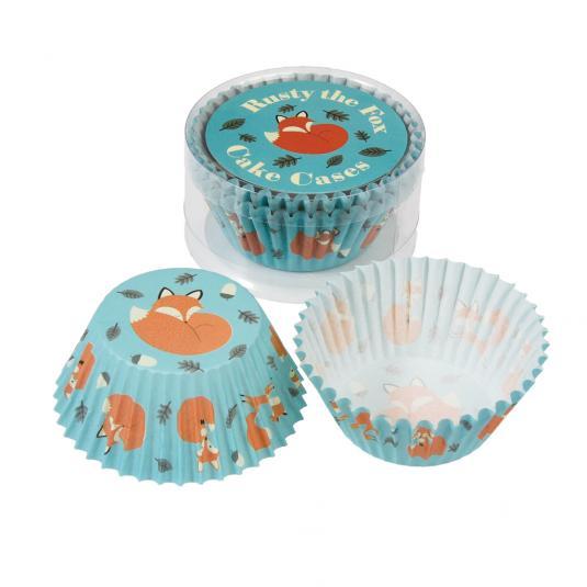 50 Rusty The Fox Fairy Cake Cases
