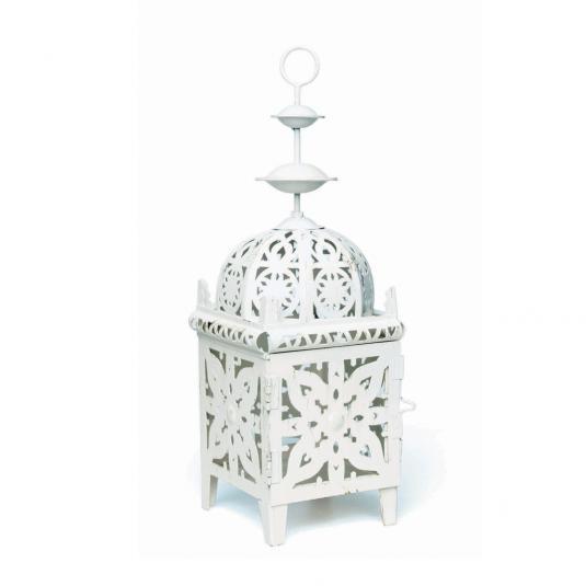 Cream Moroccan Metal Lantern