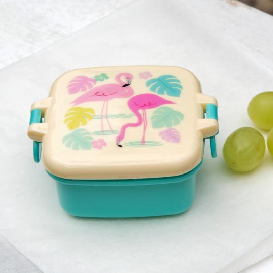 Flamingo Bay Mini Snack Pot