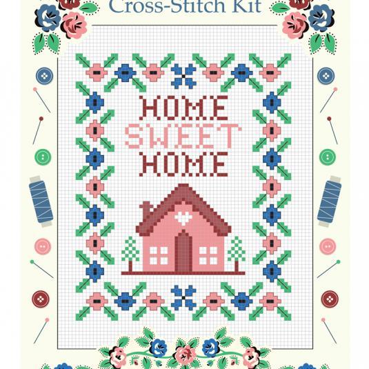 Home Sweet Home Cross-stitch Kit