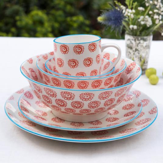 Sunflowers Design Porcelain Tableware