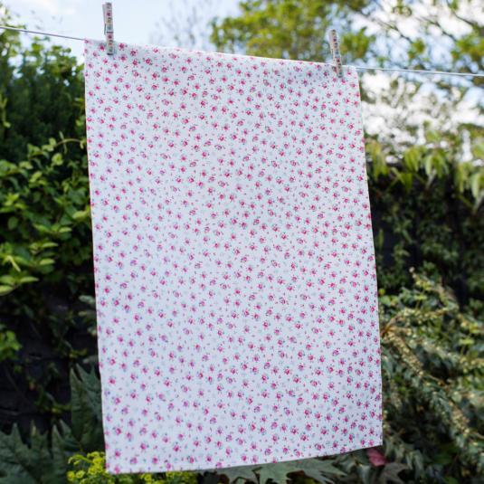 La Petite Rose Tea Towel
