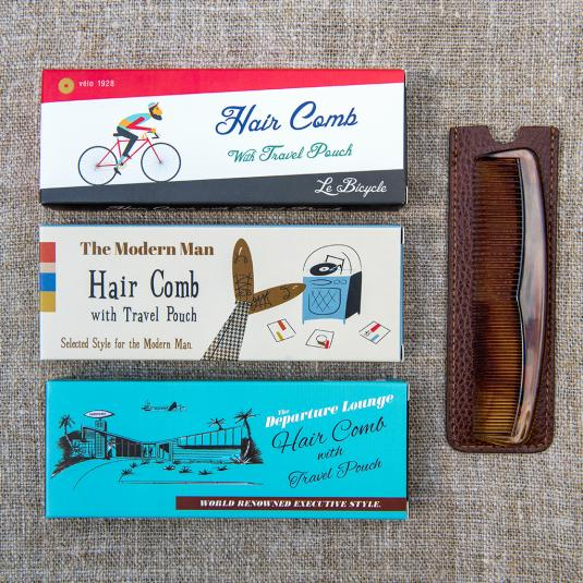 Men's Comb In A Gift Box