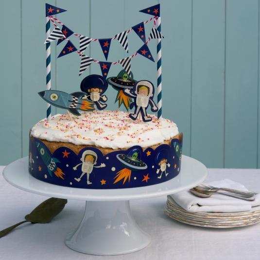 Space Adventures Cake Bunting