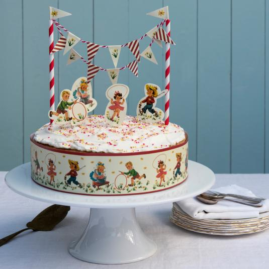 Vintage Kids Cake Bunting