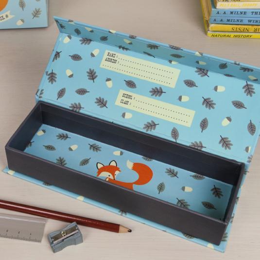 Origami Pencil Box Video Tutorial - Paper Kawaii | 800x800