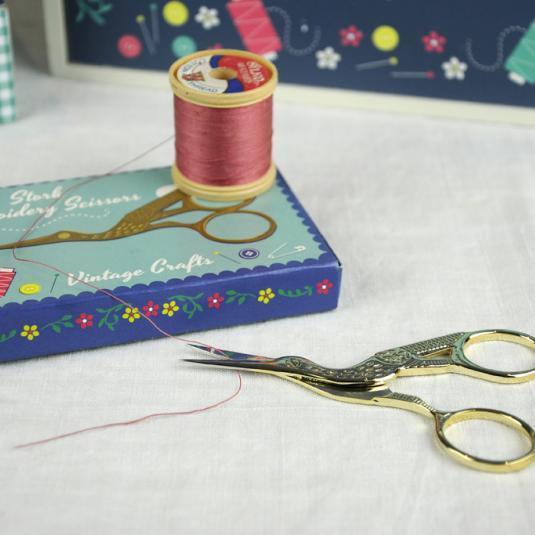 Vintage Crafts Stork Scissors