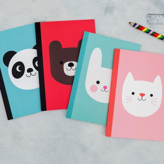 A5 lined Kawaii notebooks
