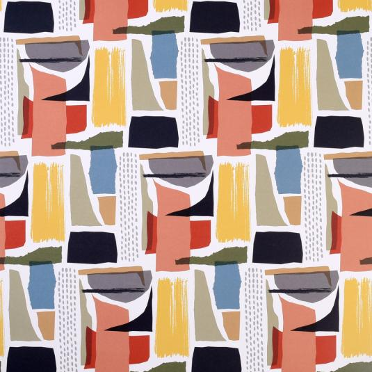Abstract Torn Wrapping Paper (5 Sheets)