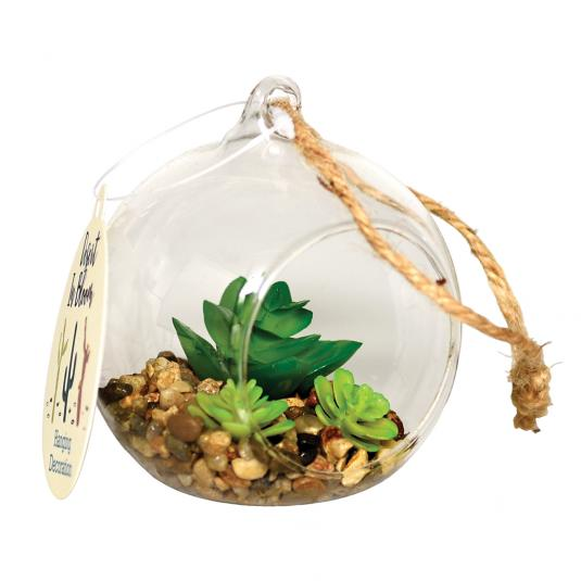 Hanging Artificial Cactus & Succulent Plants