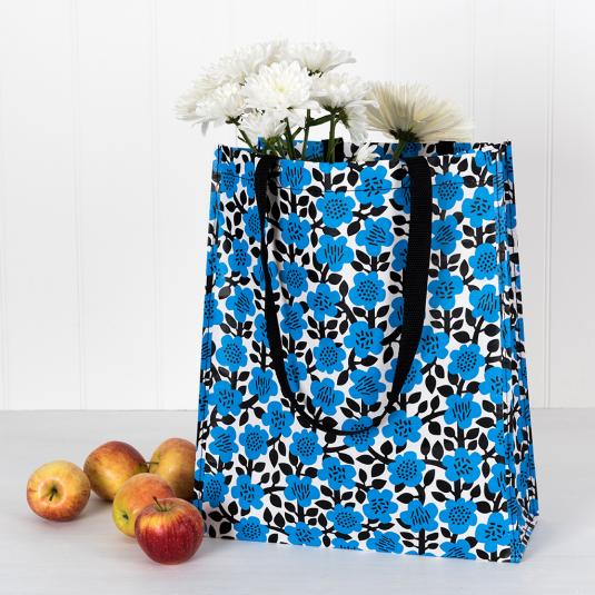 Astrid Flower Shopper Bag made from recycled materials