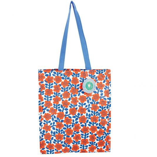 Astrid Ruby shopping bag made from recycled materials