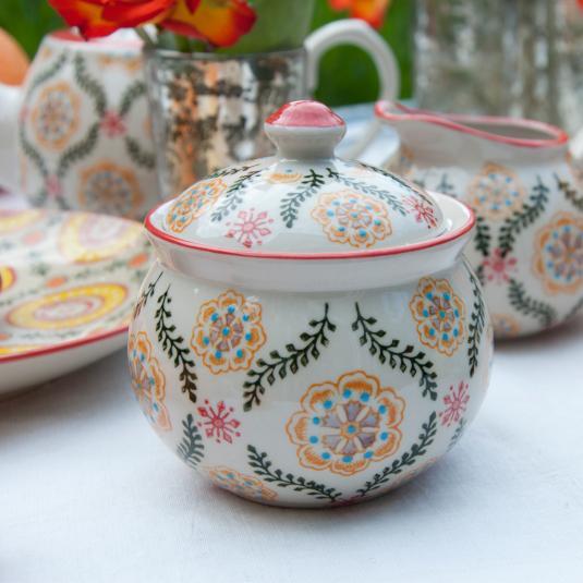 Barcelona Design Stoneware Sugar Bowl