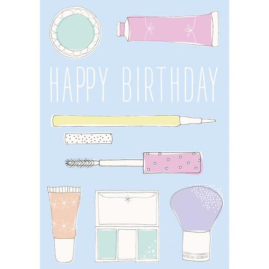 Beauty Boutique Birthday Card