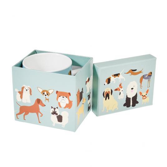 Dog Mug In Gift Box