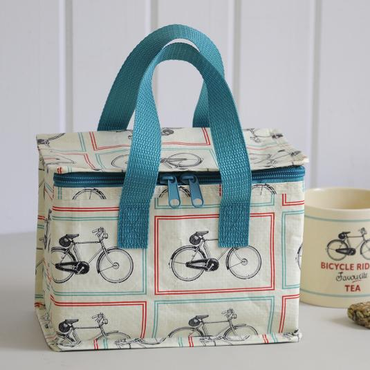 Bicycle Design Lunch Bag