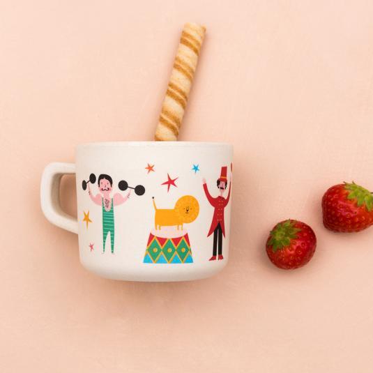 Big Top Circus bamboo mug