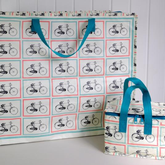 Bicycle Design Laundry Storage Bag