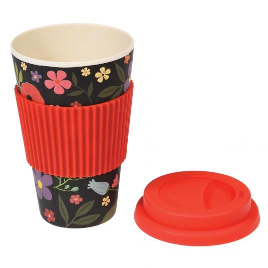 Midnight Garden Bamboo Travel Mug