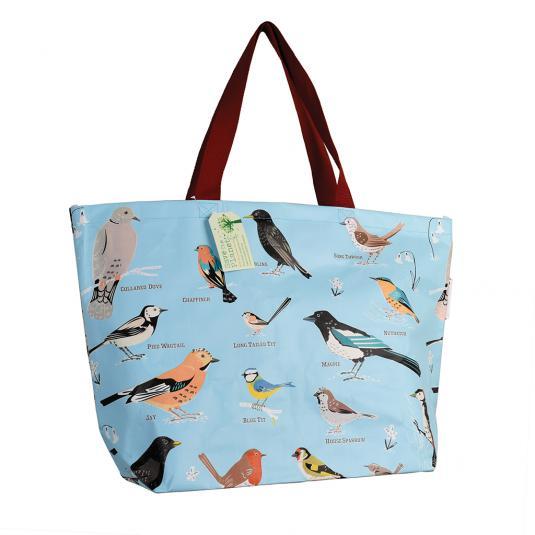 Recycled Plastic Blue Beach Bag