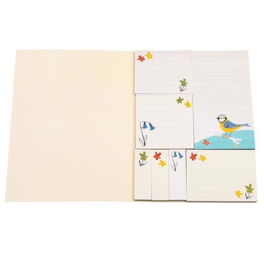 Blue Tit Bird Sticky Notes And Memo Pads