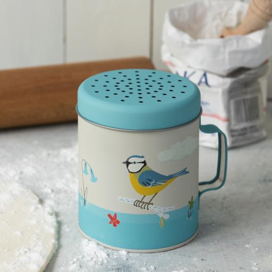 Blue Tit Bird Flour Shaker