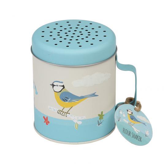 Blue Tit Flour Shaker