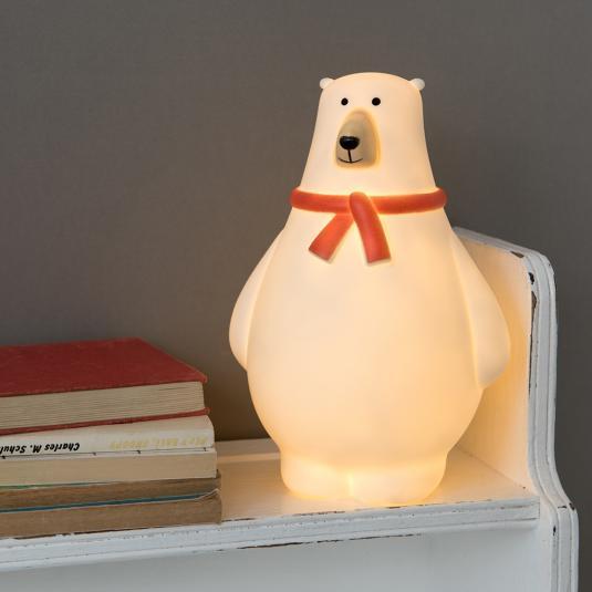 Bob the Polar bear battery powered LED night light