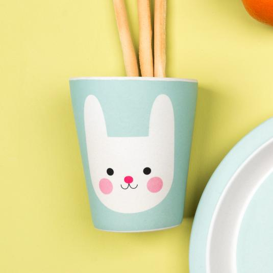 Bonnie The Bunny Bamboo Beaker
