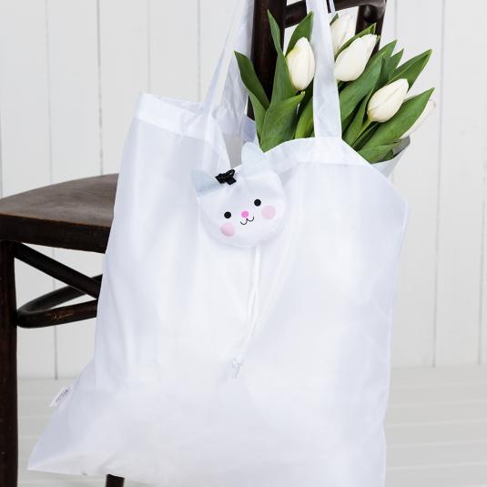 Bonnie the Bunny Folding Clip Bag