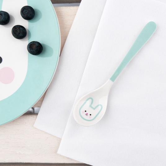 kids Melamine Spoon rabbit print