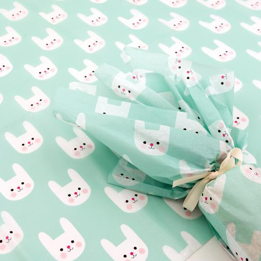 Bonnie the Bunny tissue paper (10 sheets)