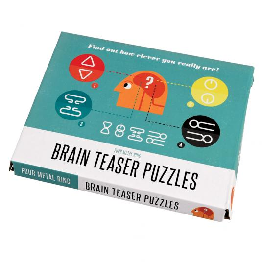Boxed Brain Teaser Puzzles