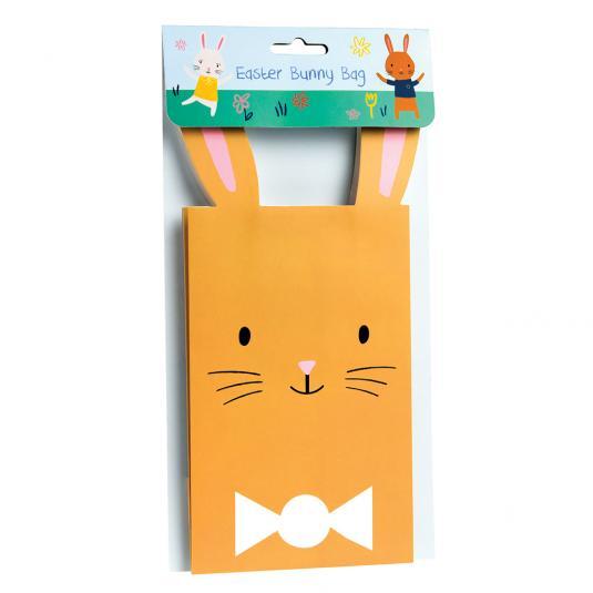 Brown Easter Bunny Bag
