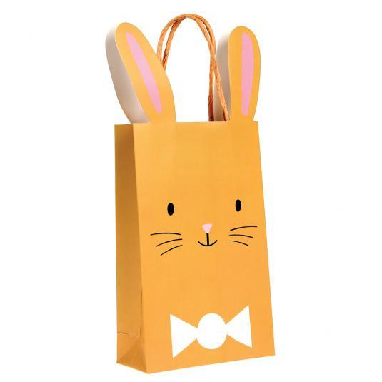 Brown Easter Bunny Easter Egg Bag