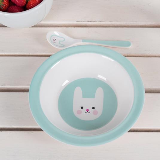 Bunny Melamine Bowl