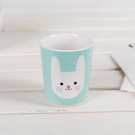 Bunny Melamine Beaker