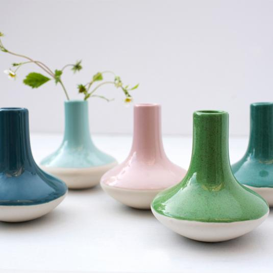 Paloma Ceramic Candle Sticks