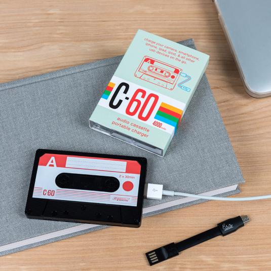 Cassette Tape shaped Usb Charger