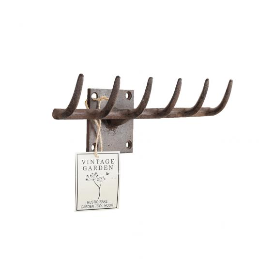 Cast Iron Garden Rake Hook