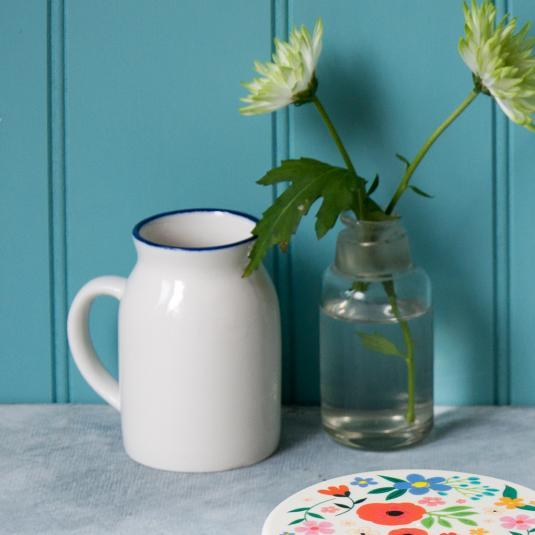 Ceramic Milk Churn
