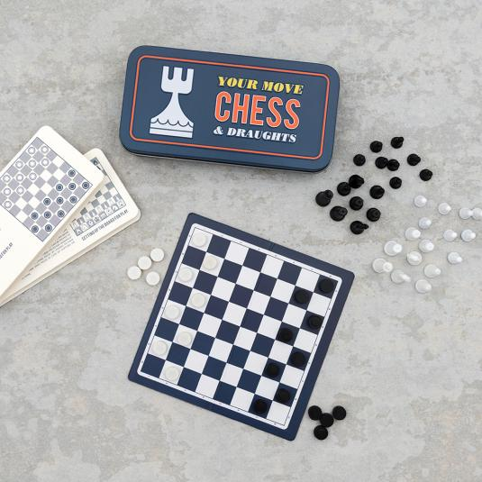 Travel Chess And Draughts