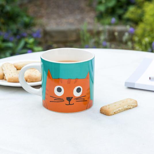 Chester the Cat ceramic mug