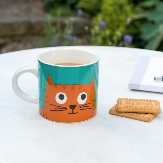 Chester the Cat mug