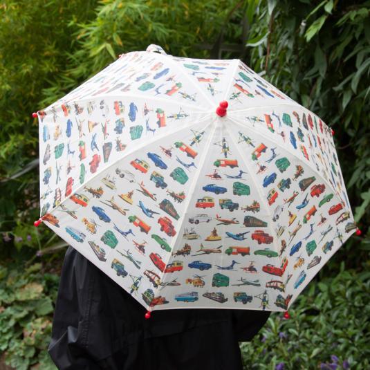 Children's Umbrella Vintage Transport
