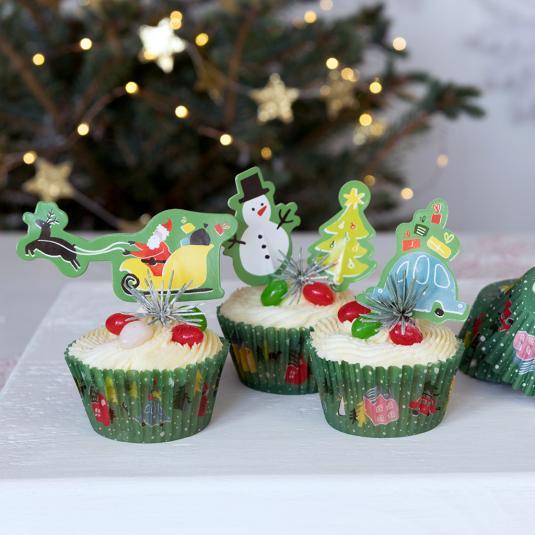 Christmas Wonderland Cupcake Kit