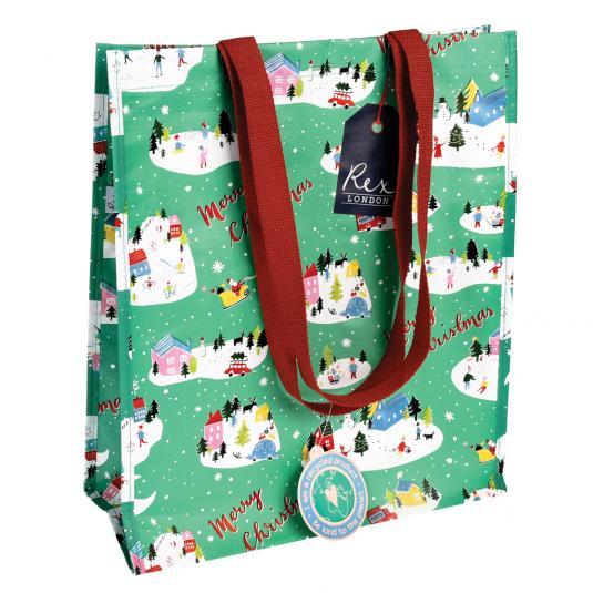 Rex London Christmas Wonderland Shopping Bag